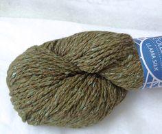 SALE 50% Off   1x100g/3.5oz Llama Silk Chunky yarn by by petitknit