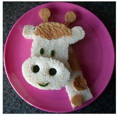 Giraffe Sandwich #Giraffe #Sandwich #kids #food #lunch