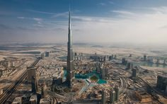 """""""The massive Burj Khalifa in Dubai, UAE, is by far the tallest man-made structure ever built. It stands an awe-inspiring 828m (2,717ft) above ground and has 160 floors. It became the world's tallest building when it opened on January 4th, 2010. It took six years to construct and it is home to hotels, residences, restaurants, and offices."""""""