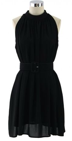 belted chiffon dress  http://rstyle.me/n/upbfipdpe