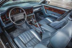 "1993 Aston Martin Virage Volante ""Wide Body"" #AstonMartin #ClassicCars #Convertible #Auction"