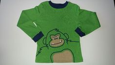 Carter's Green Gorilla Longsleeve Thermal T-Shirt  #Carters #Everyday