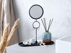 Suport bijuterii oglindă BILLDAL negru | JYSK Diffuser, Ocean, House, Bathroom, Fragrance, Mirrors, Washroom, Home, Full Bath