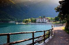 Lago di Ledro in Trentino-Alto Adige