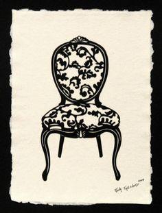 Louis XV Chair | Tina Tarnoff