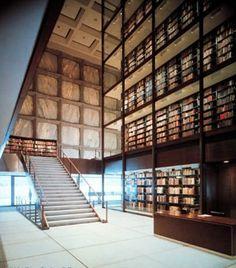 Image 10 of 15 from gallery of AD Classics: Beinecke Rare Book & Manuscript Library / Gordon Bunshaft (SOM). © SOM and Ezra Stoller/Esto