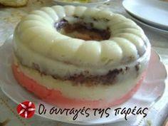 Χαλβάς τρίχρωμος Greek Desserts, Greek Recipes, Halva Recipe, Bagel, Vegan Vegetarian, Food To Make, Sweet Tooth, Cheesecake, Food And Drink