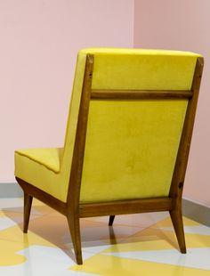 Silvio Cavatorta; Lounge Chair, 1950.