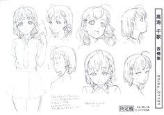 Character Model Sheet, Character Sketches, Character Drawing, Art Sketches, Manga Drawing Tutorials, Art Tutorials, Beautiful Drawings, Cute Drawings, Learn To Draw Anime