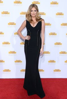 Kate Upton - NBC And Time Inc. 50th Anniversary Celebration Of Sports Illustrated Swimsuit Issue in Hollywood 14 January 2014 in Antonio Berardi Gown