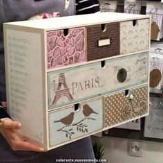 17 Best Ideas For Upcycled Furniture Ideas Boxes Living Room Decor Furniture, Art Deco Furniture, Paint Furniture, Furniture Makeover, Furniture Ideas, Funky Painted Furniture, Cardboard Furniture, Upcycled Furniture, Handmade Home