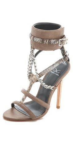 Monika Chiang Domina Chain Cuff Sandals | SHOPBOP
