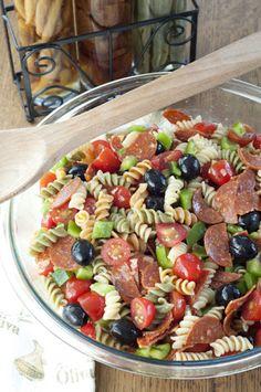 Classic Italian Pasta Salad Recipe on Yummly