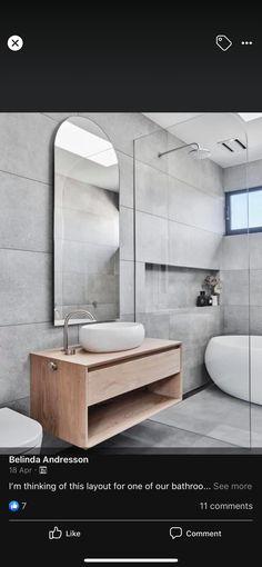 Bathroom Lighting, Mirror, Furniture, Bathrooms, Home Decor, Bathroom Light Fittings, Bathroom Vanity Lighting, Decoration Home, Bathroom