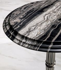 Gueridon Side table detail, Glamour Living Room Design at Cassoni.com