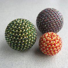 Huge Beaded Beads by TheCrimsonMoon, via Flickr