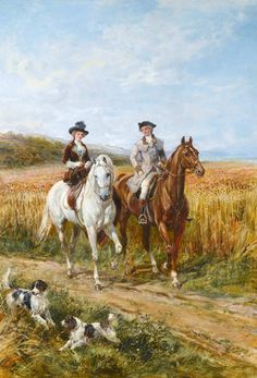 The Morning Ride by Heywood Hardy | Art Posters