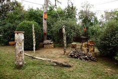 """Harkálykert"" ősszel / ""Woodpecker-garden"" in autumn, Budapest Budapest, Firewood, Texture, Crafts, Wood, Surface Finish, Woodburning, Manualidades, Handmade Crafts"