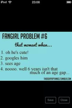 Fangirl relate---and then there's also height to consider...