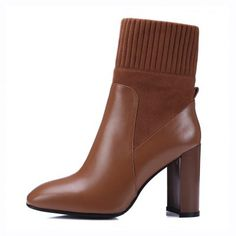 Chiko Giselle Chunky Heel Ankle Boots