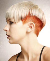 Alternative Short Straight Hairstyle -