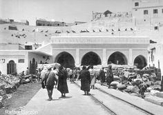 Tanger Old photographs of Tangier La Aduana, fotos, old, century, photos, nineteenth, xix, siglo