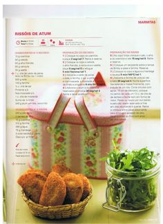Revista bimby pt-s02-0029 - abril 2013 I Companion, Happy Foods, Finger Foods, Recipies, Muffin, Food And Drink, Menu, Snacks, Cooking