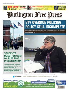 Today's Burlington Free Press @bfp_news www.burlingtonfreepress.com