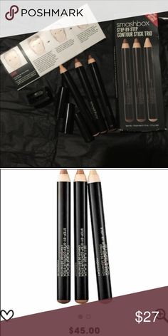 Hot selling Smashbox contours kits Brand new in box .( original price is $45 plus tax at the store and online ) Smashbox Makeup Bronzer