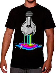 Let your creativity flow free and make your dreams a reality with this 11-color design. #edmfashion #colorful #rave #tee