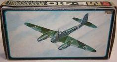 AVIATION : ME-410 Messerschmitt 1:72 scale model kit made by AMT / FROG