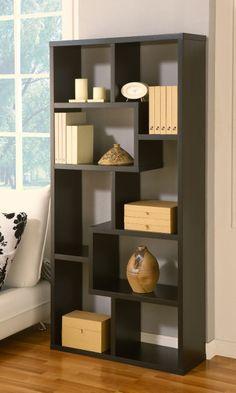 Masima Unique Bookcase / Display Cabinet in Black
