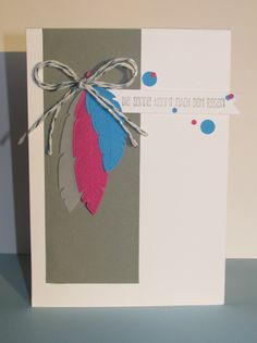 I love Four Feathers from Stampin' Up! Ich liebe die Four Feathers von Stampin' Up!