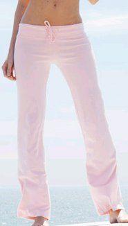 Bella Cotton Spandex Fitness Yoga Pant - Pink