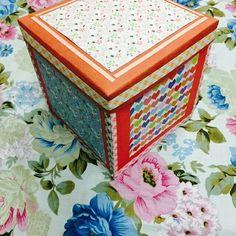 handmade explosion box
