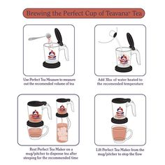 Teavana Tea Maker Directions