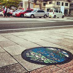 @kitao777 「マンホールと地撮りメンバー #jidori0610 #yamaguchi #hofu」