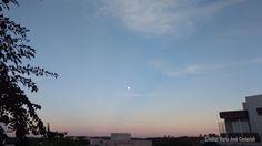 Z.Meck News: Diferente: Imagens da Lua pela manhã... Recebemos três fotos da seguidora Maria José Cestarioli, que ela bateu na manhã de sexta feira... https://zmecknews.blogspot.com.br/2017/05/diferente-imagens-da-lua-pela-manha.html