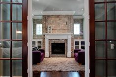 Image result for fireplace  brick