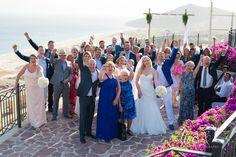 Wedding at Pueblo Bonito Sunset Beach -Sky Pool