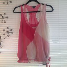 ARMANI EXCHANGE Top sheer with under shirt XS AX Armani Exchange Top Armani Exchange Tops