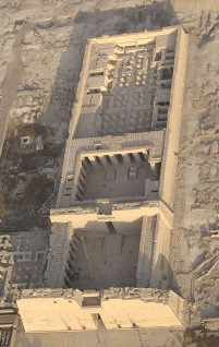 The temple of Ramses III at Medinet Habu