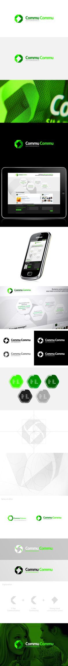 CommuCommu by Kamil Doliwa, via Behance