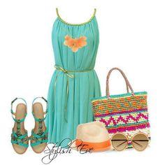 Mint...coral fresh spring/summer wear...