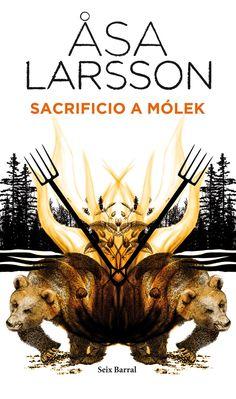SACRIFICIO A MÓLEK. - Un grupo de cazadores mata a un oso en los bosques cercanos a Kiruna. Cuando abren el vientre del animal, encuentran un dedo humano entre las vísceras. Unos meses más tarde, hallan a una mujer asesinada en su casa. Ha sido brutalmente agredida con una horqueta hasta la muerte. Markus, su nieto de siete años, ha desaparecido. La fiscal del distrito, Rebecka Martinsson, que en un principio...