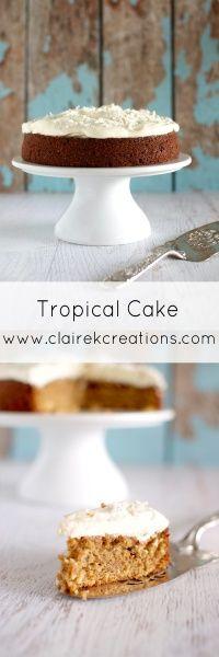 Tropical cake via ww