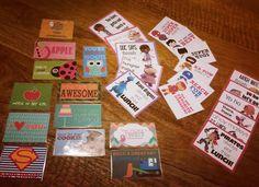 Lunch box notes to start off the year!  #lunchnotes #lunchboxideas #kidsloveit #preschool #school #treats #healthyoptions #lovemybabies #lovebeingamummy by emilytrotman