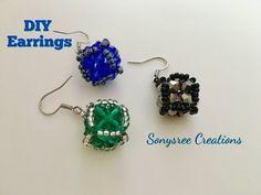 Cute little Cube Earrings - YouTube