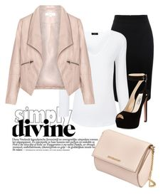 """""""Untitled #65"""" by samanthamontanari ❤ liked on Polyvore featuring Alexander McQueen, Joseph, Zizzi, Prada and Givenchy"""