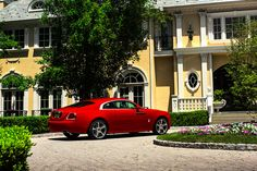 Rolls-Royce Wraith St James Red